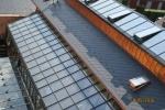 Fakulta restaurování Litomyšl-prosklená střecha